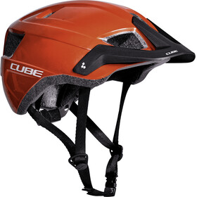 Cube CMPT lite - Casque de vélo - orange